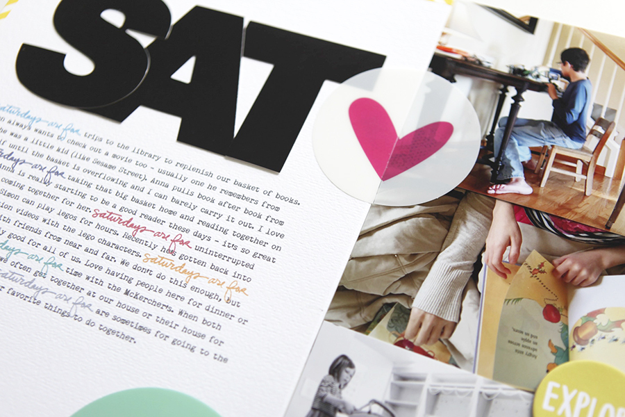 These Days Are For   Scrapbook & Cards Today Summer 2015 Article