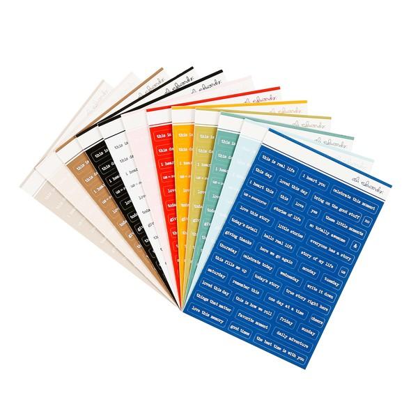 27678 word phrase sticker bundle original