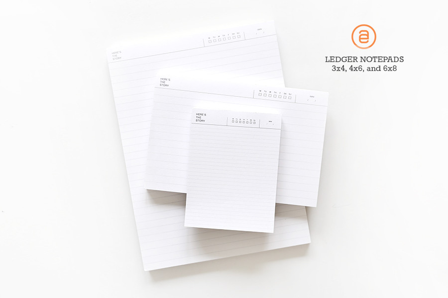 Ledger notepad secondary original