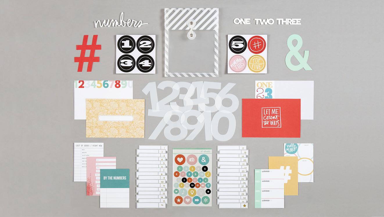 Ae numbers kit wide original