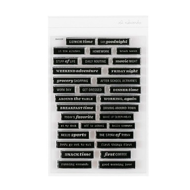 9359 everyday label stamp set