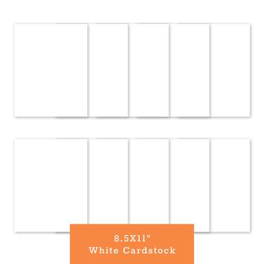 White cardstock 8.5x11(770x770)
