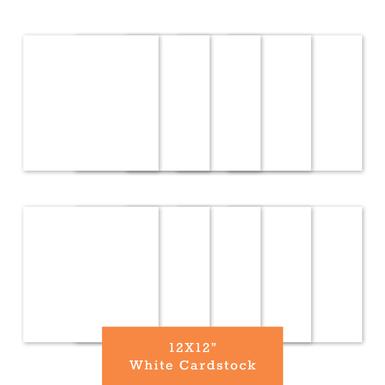 White cardstock 12x12(770x770)