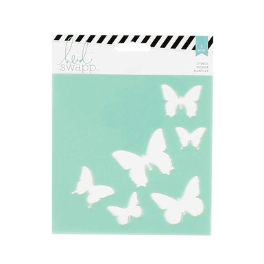 Ae stencil butterfly 17642
