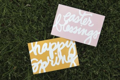 Spring/Easter Word Art Freebie