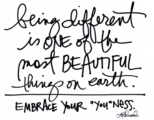 Being Different Quotes On Being Different