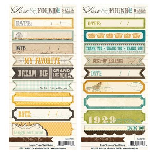 Ali Edwards Design Inc.   Blog: Love These   Label Stickers
