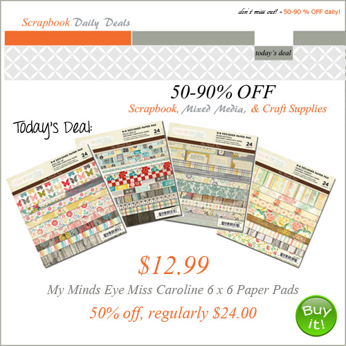 Digital Scrapbooking Studio offers Daily Deals Mon - Sat starting at midnight EST! Take advantage of massive discounts as high as % OFF Bookmark this page and visit every day or subscribe below! note Daily Deals are exempt from our point system.