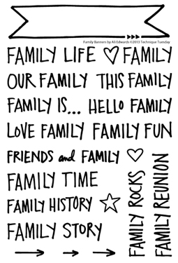 Technique-Tuesday-Family-Banners-Ali-Edwards-Clear-Stamps-Medium