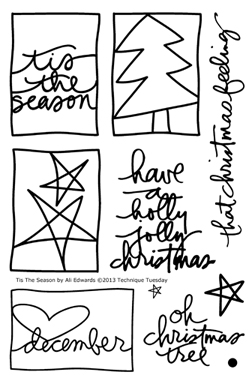Technique-Tuesday-Tis-The-Season-Ali-Edwards-Clear-Stamps-Medium