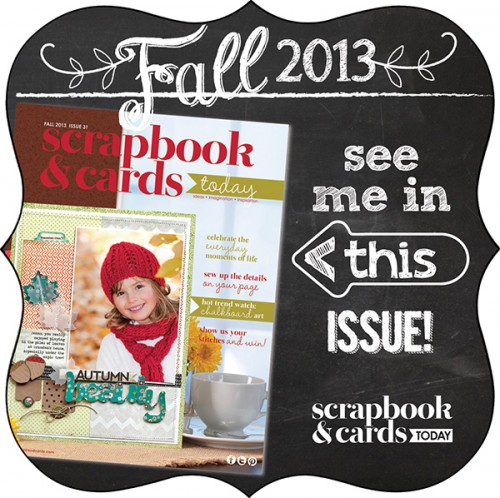 Scrapbook Cards Today Fall 2013