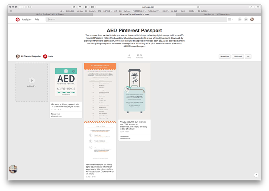 Aed pinterestpassport