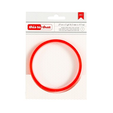 Red tape quarter inch