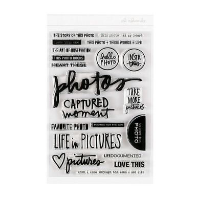 9284 photos stamp set