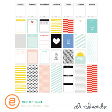 Aed weekinthelife cards prev