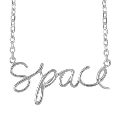 Ae olw shop necklaces space silver main