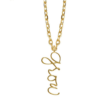 Ae olw shop necklaces grow gold