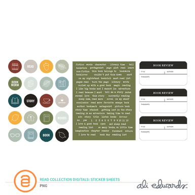 Aedwards readcollection stickersheets prev